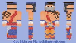 Killer Instinct - Jago Minecraft Skin