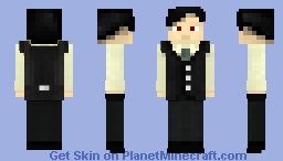 Lucius - Son of the Devil (Let's Play special in description) shaded Minecraft Skin