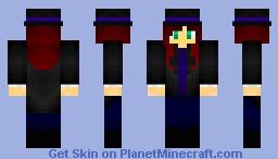 Magician Girl Minecraft Skin