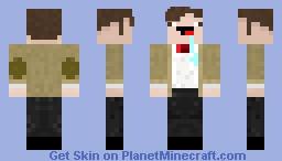 Noobified Eleventh Doctor Minecraft Skin