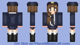 Police Girl 🚓 Minecraft
