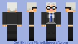 Rev. Wilbert Awdry Minecraft Skin