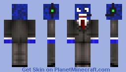Blue Bussinessman (More Details and awesome-er suit!)