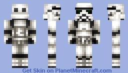 Imperial Stormtrooper Minecraft Skin