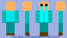 8-bit Cying Child Minecraft Skin