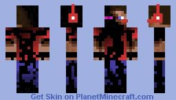 Ender Steve Gamer Minecraft Skin