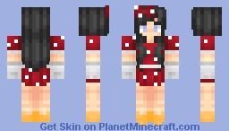 ღToyღ ~ Minnie Mouse Minecraft Skin