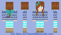 Sweater Girl! Minecraft