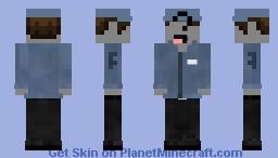 Jeremy Fitzgerald |FNaF| Minecraft Skin