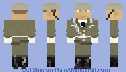 NVA Nationale Volksarmee (National People's Army) Soldier (GDR) German Democratic Republic Minecraft Skin