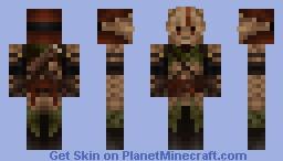 Sarrowmerk Unsung Minecraft Skin