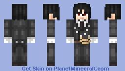 Sebastian Michaelis (Kuroshitsuji) Minecraft Skin