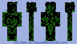 Green-Dark Evil II Minecraft Skin