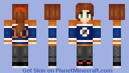 •❤• αιηzο •❤• Actual Tomboy Minecraft Skin