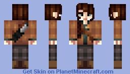Hunger Games, кαтηιѕѕ єνєя∂єєη -Popreel Minecraft Skin