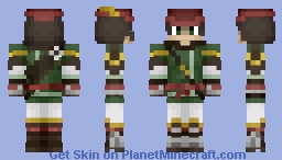 Steampunk Archer Minecraft Skin