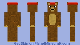 Stitches The Teddy Bear Minecraft Skin
