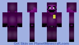 Purple Man (FNAF) Minecraft Skin
