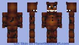 FNAF 2 - Dismantled Freddy