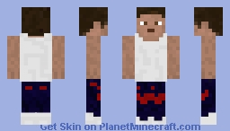 Just another cool guy skin Minecraft Skin