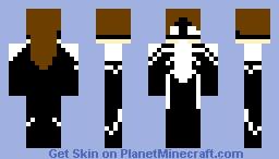 Araña-Anya Corazon Minecraft Skin