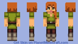 Bluebird Alex Minecraft Skin