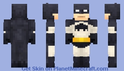 The Dark Knight Returns Batman Minecraft Skin