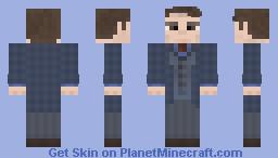Dr. Hannibal Lecter (Mads Mikkelsen) Minecraft Skin