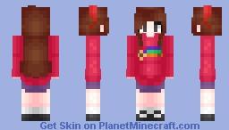 Mabel Pines ~*gravιтy ғallѕ*~ ☆.:ђคzє:.☆ Minecraft Skin