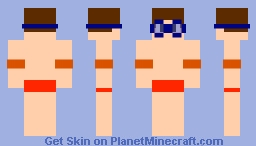 Swimmer Boy Minecraft Skin