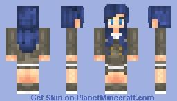 MrsOusawa - Anime girl. Minecraft Skin