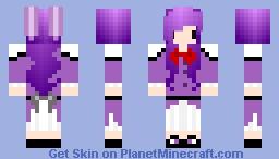 Chibi Bonnie Girl Minecraft Skin