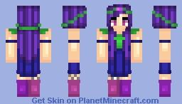 "✖ѕє¢яєтριє✖ Something Colorful... ""Pi is Senpai""-Sockrael and Astralflare Minecraft Skin"