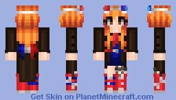 Tenth Doctor Girl Redo! Minecraft Skin