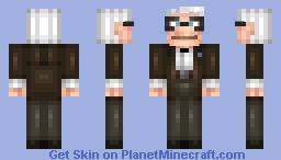 Carl Fredricksen Minecraft Skin