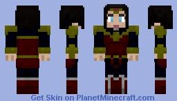 Wonder Woman - Post-Convergence Minecraft Skin