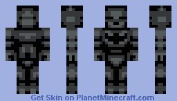 Batman (Speedy's 3 Color Challenge) Minecraft Skin