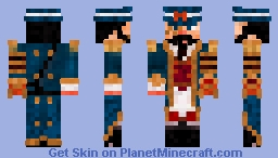 Captain Nemo Minecraft Skin