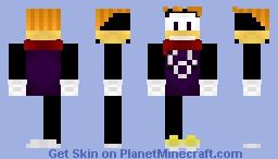 Rayman Minecraft Skin