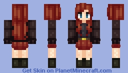 Easter Girl (so original) Minecraft Skin