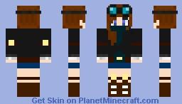 DanTDM - Girl Version Minecraft Skin