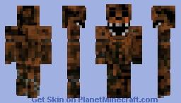 Phantom Freddy -Fnaf 3 Minecraft Skin