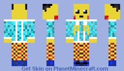 Winter Pikachu Minecraft Skin
