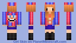 Balloon Fangirl Minecraft Skin