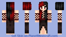 My first attempt at shading Minecraft Skin