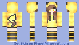 Pika Girl (Pokemon) Minecraft Skin