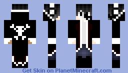 Goth Boy Minecraft Skin