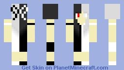 Half and Half Minecraft Skin