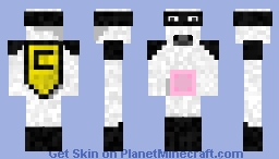 Cow man Minecraft Skin