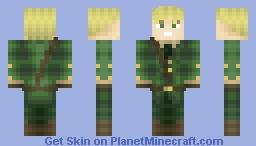 Hetalia: England Minecraft Skin